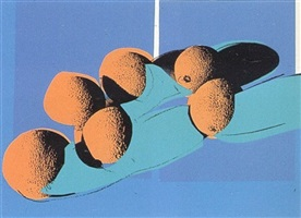 space fruit - cantaloupes i [ii.201] by andy warhol